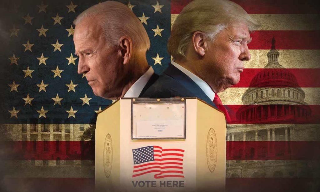 Ứng cử viên Đảng Cộng hòa Donald Trump sẽ làm cho nước Mỹ vĩ đại trở lại, còn ứng cử viên Đảng Dân chủ Joe Biden sẽ khiến Hoa Kỳ rẽ trái và chạy theo chủ nghĩa xã hội.