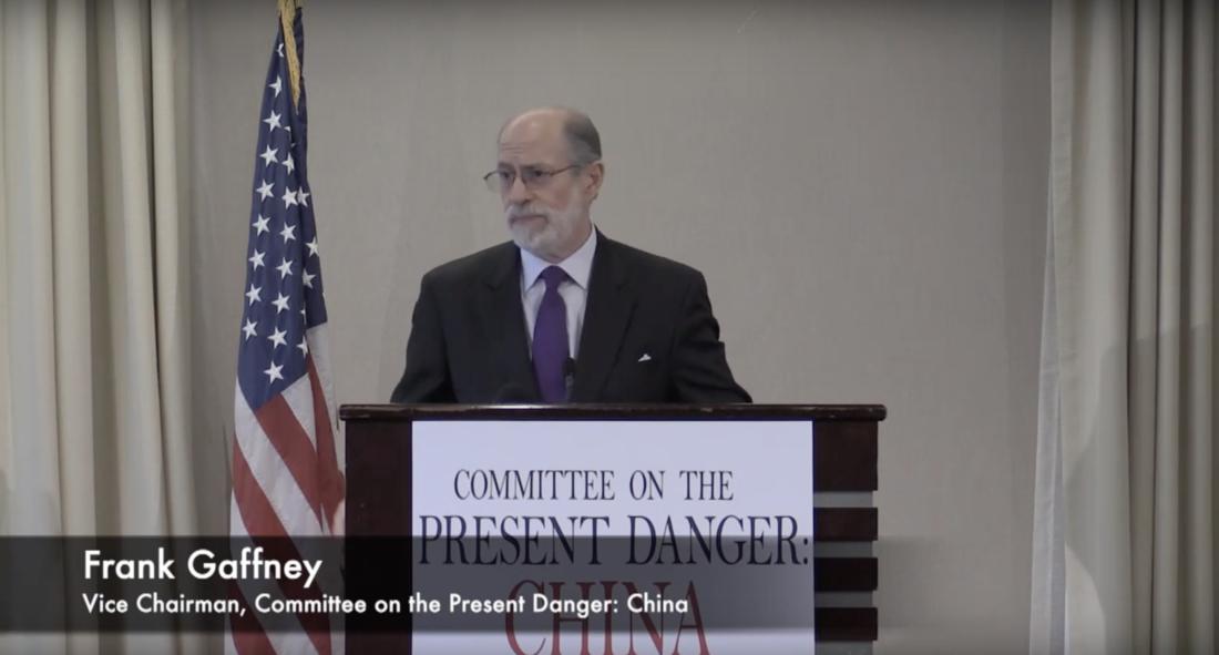 Ông Frank Gaffney, Phó chủ tịch của Ủy ban về Mối nguy hiện tại của Hoa Kỳ: Trung Quốc (CPDC). (Ảnh từ website của CPDC)