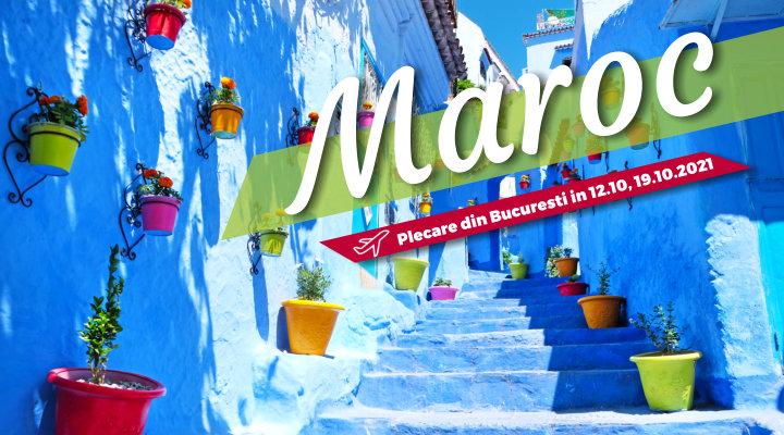 Circuit Maroc - toamna 2021 - Casablanca - Marrakech - Fez - Volubilis - Rabat - zbor din Bucuresti - rezervari online