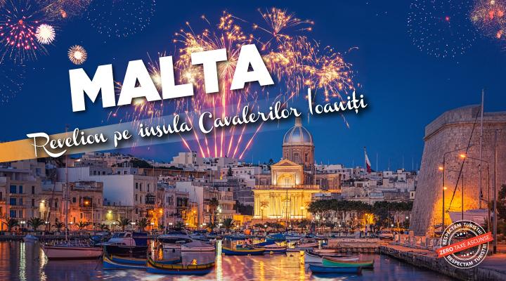 Last minute Revelion Malta 2021 - 2022 - sejur charter avion - zbor din Bucuresti - reduceri - rezervari online
