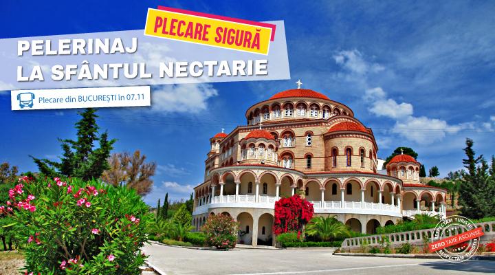 Pelerinaj Sfantul Nectarie - Grecia - plecare 07.11.2021 - autocar - mic dejun inclus