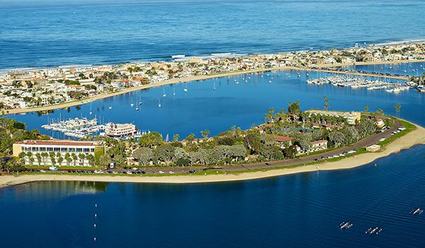 Bahia Resort Hotel Aerial View