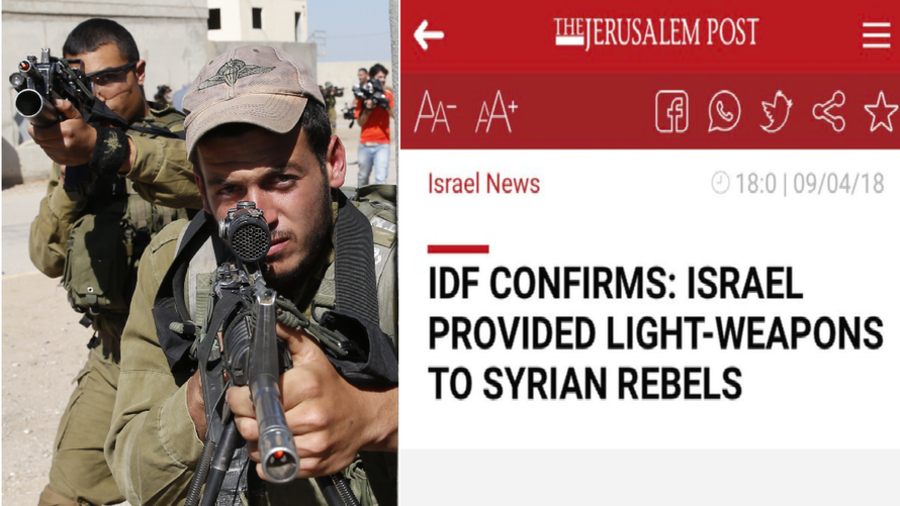 Report on IDF funding Syrian rebels pulled on request of 'army's censor' – Jerusalem Post to RT
