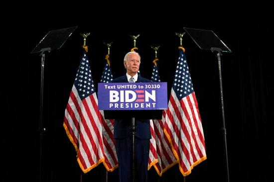 بايدن يصبح المرشح الديمقراطي للرئاسة