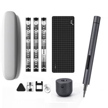 XIAOMI Wowstick 1F + 64 В 1 Электрическая отвертка Аккумуляторная литиево-ионная зарядная LED отвертка