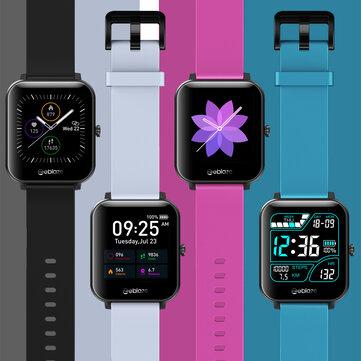 [Bluetooth Call] Zeblaze GTS 1,54-дюймовый сенсорный экран 7x24h Сердце Скорость Монитор 60+ Циферблаты Погода Дисплей Управление музыкой Смарт-часы с настр