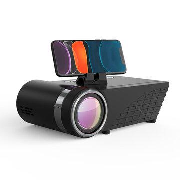 BlitzWolf® BW-VP8 WIFI Проектор 5500 люмен LCD LED Литой экран Bluetooth5.0 Наушник Звук Беспроводной телефон Тот же экран Полный HD 1080P Поддерживаемый дисплей 15