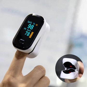 BOXYM oFit-2 Пульсоксиметр с зажимом на палец, датчик кислорода в крови, Saturometro Сердце Деоксиметр, портативный пульсоксиметр Монитор