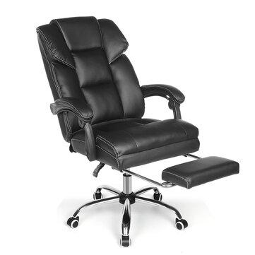 BlitzWolf® BW-OC1 Эргономичное офисное кресло Дизайн с широким сиденьем, откидывающимся на 150 ° Выдвижная подножка из полиуретана Подушка для поя