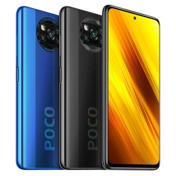 POCO X3 NFC Global Version Snapdragon 732G 6GB 64GB 6,67 дюйма, 120 Гц Частота обновления 64MP Quad камера 5160mAh Octa Core 4G Смартфон