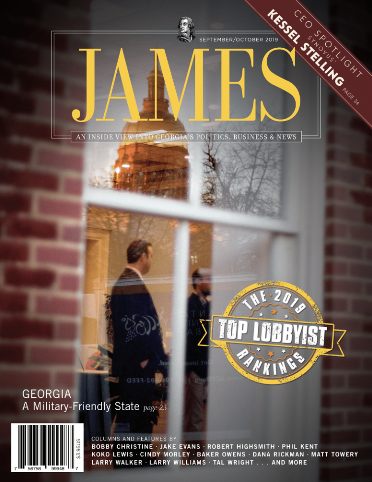 JAMES Magazine | Top Lobbyist Issue 2019