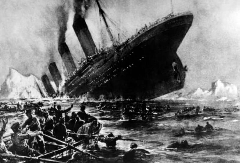 Крушение Титаника, 1912 год