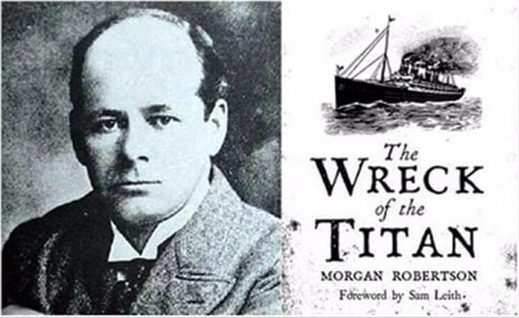 Книга Моргана Робертсона Тщетность, или крушение Титана