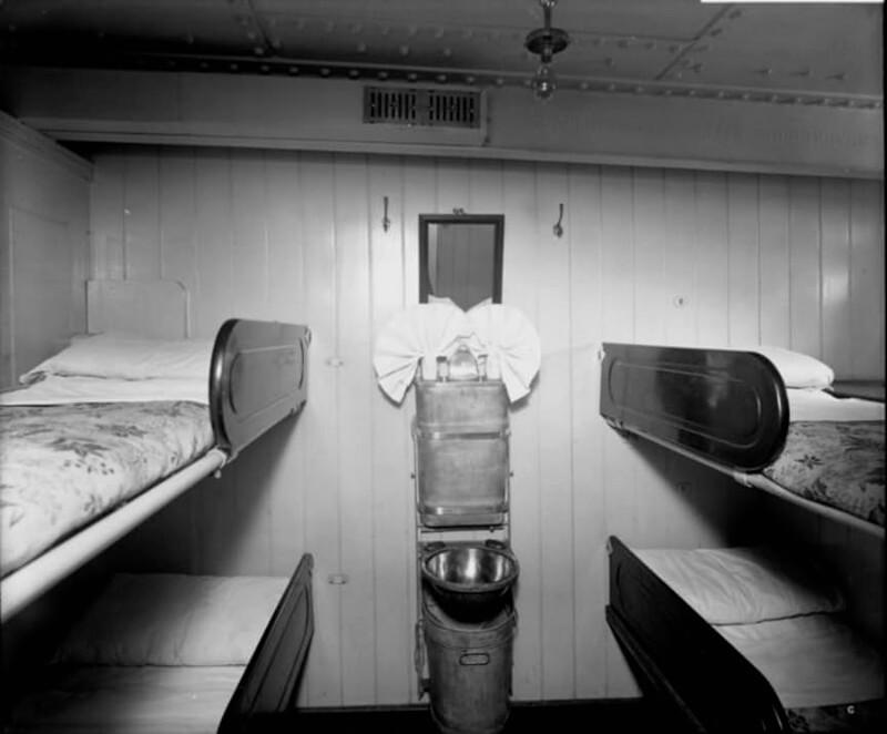 Каюта третьего класса на Титанике