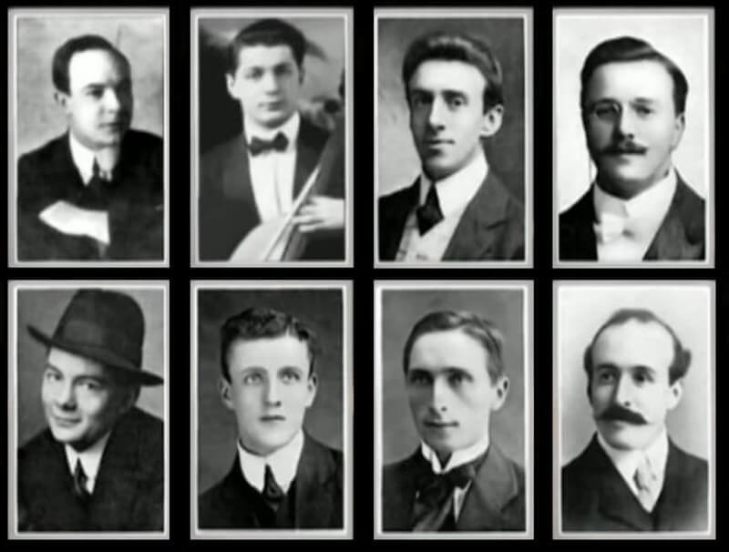 Музыканты на корбале «Титаника»