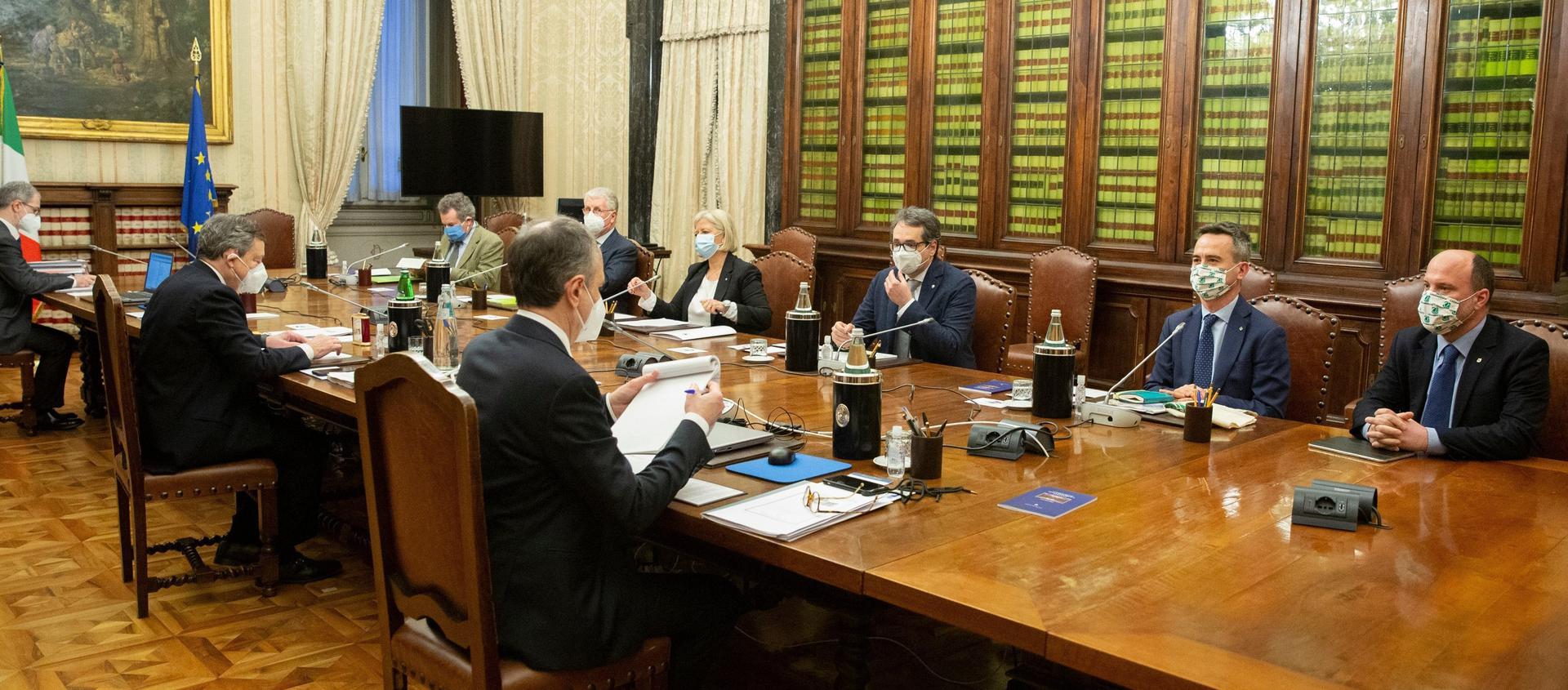Consultazione associazioni ambientaliste e Mario Draghi