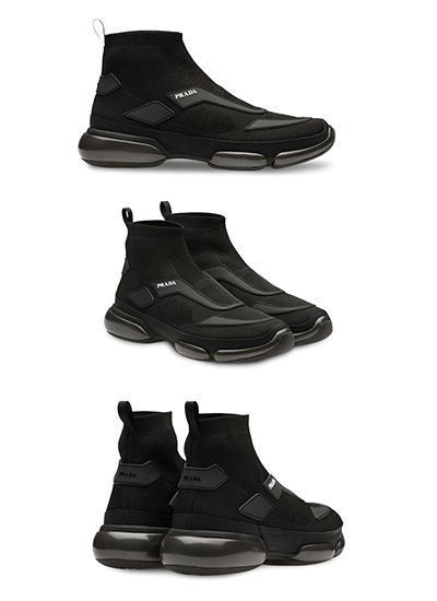 best-all-black-sneakers-prada-cloudbust-high-top