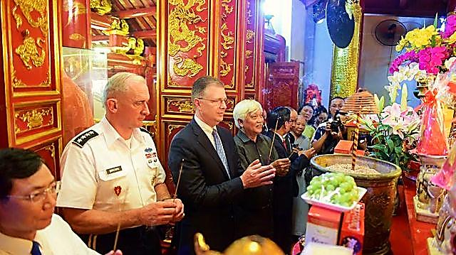 Theo Đại sứ Kritenbrink, Mỹ mong muốn hỗ trợ Việt Nam để Việt Nam trở thành một quốc gia vững mạnh và thịnh vượng.