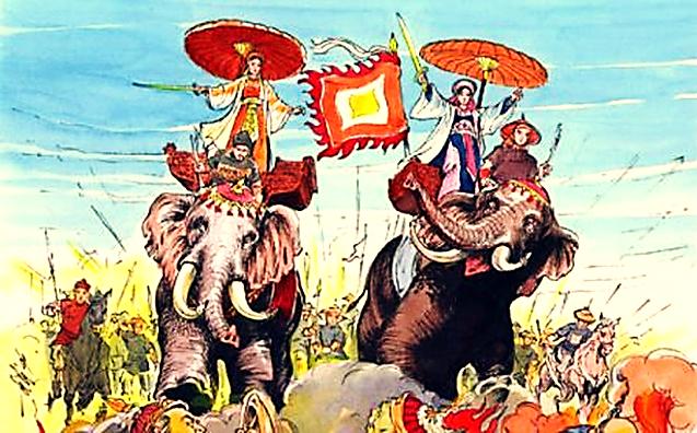 Image result for những hình ảnh về hai bà trưng