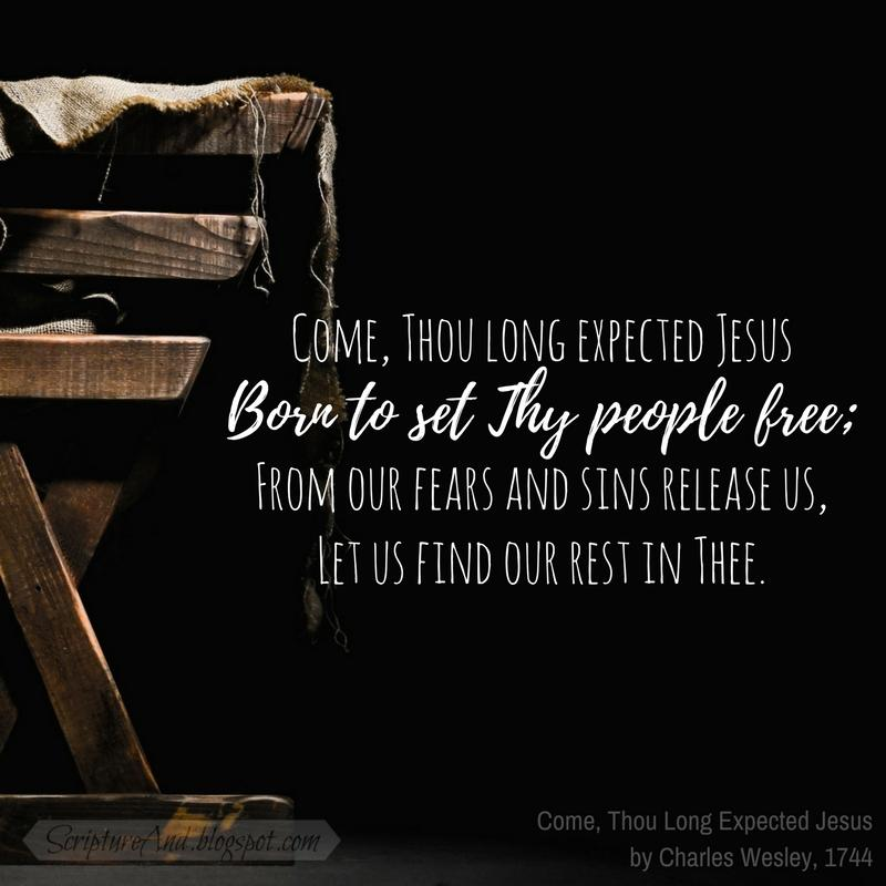 Image result for come thou long expected jesus