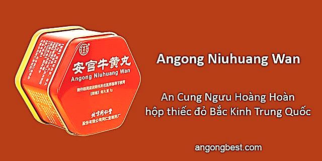 Uống An Cung Ngưu Hoàng Hoàn của Trung Quốc có tốt không?
