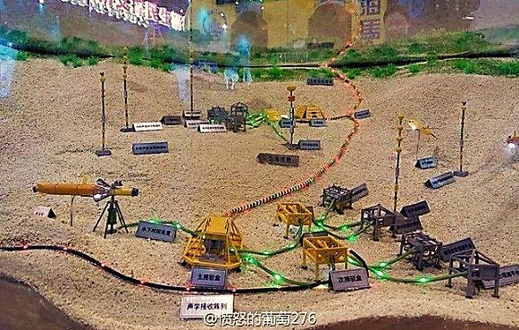 Image result for hình về phòng thủ tàu ngầm tên vạn lý trường thành dưới nước của trung quốc