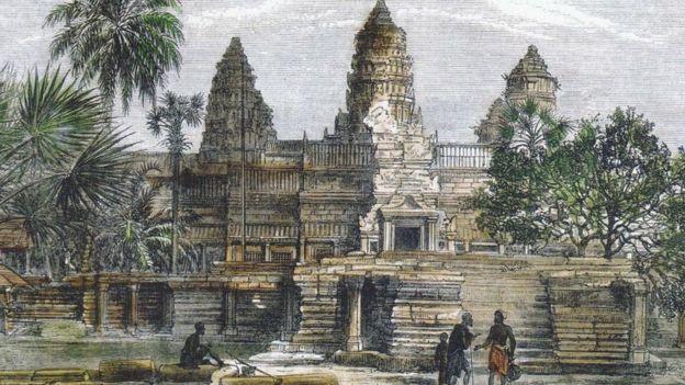 寺庙的建筑