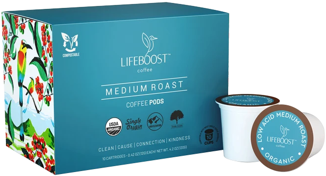 Lifeboost Coffee Pods