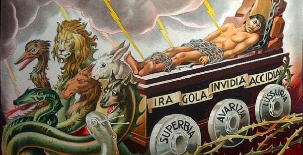 Viaggio (quasi) godurioso   tra i sette peccati capitali - Live ...