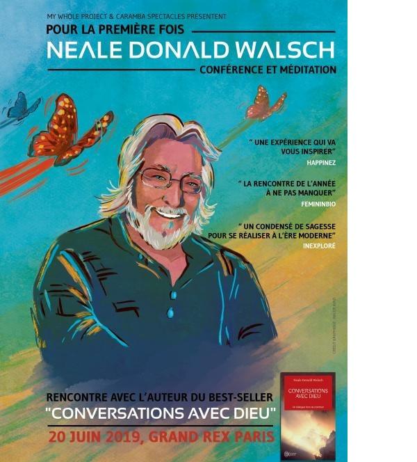 Neale Walsch au Grand Rex à Paris le 20 juin 2019 !