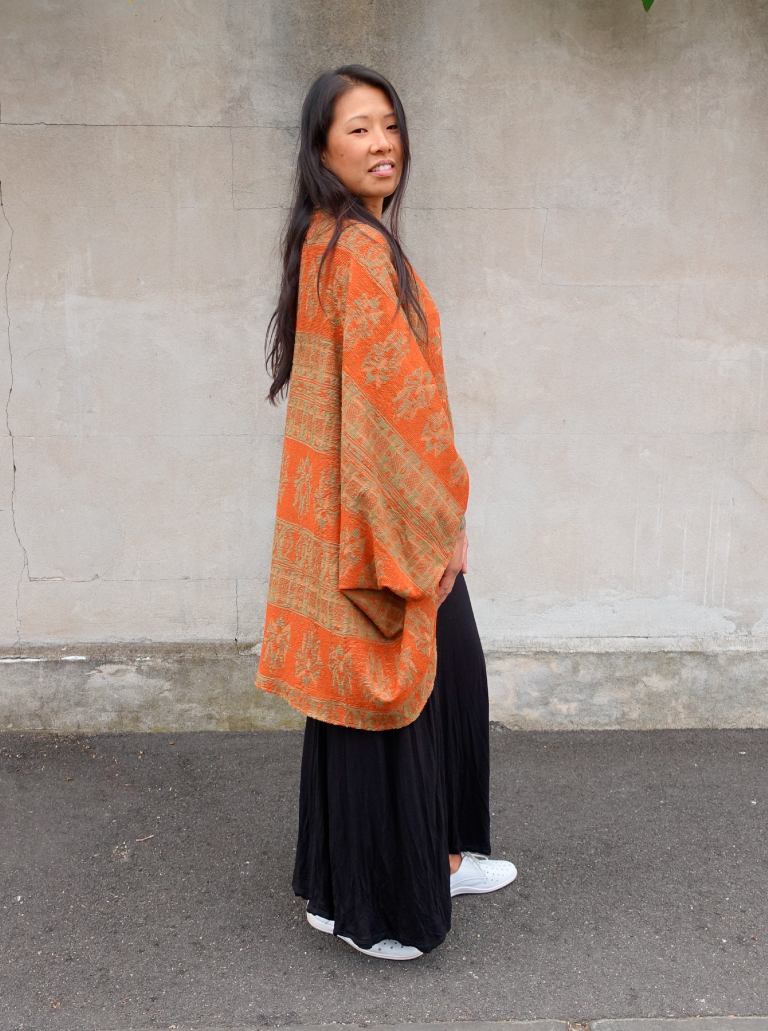 Style Arc's latest pattern- Salma Wrap- bush fire appeal