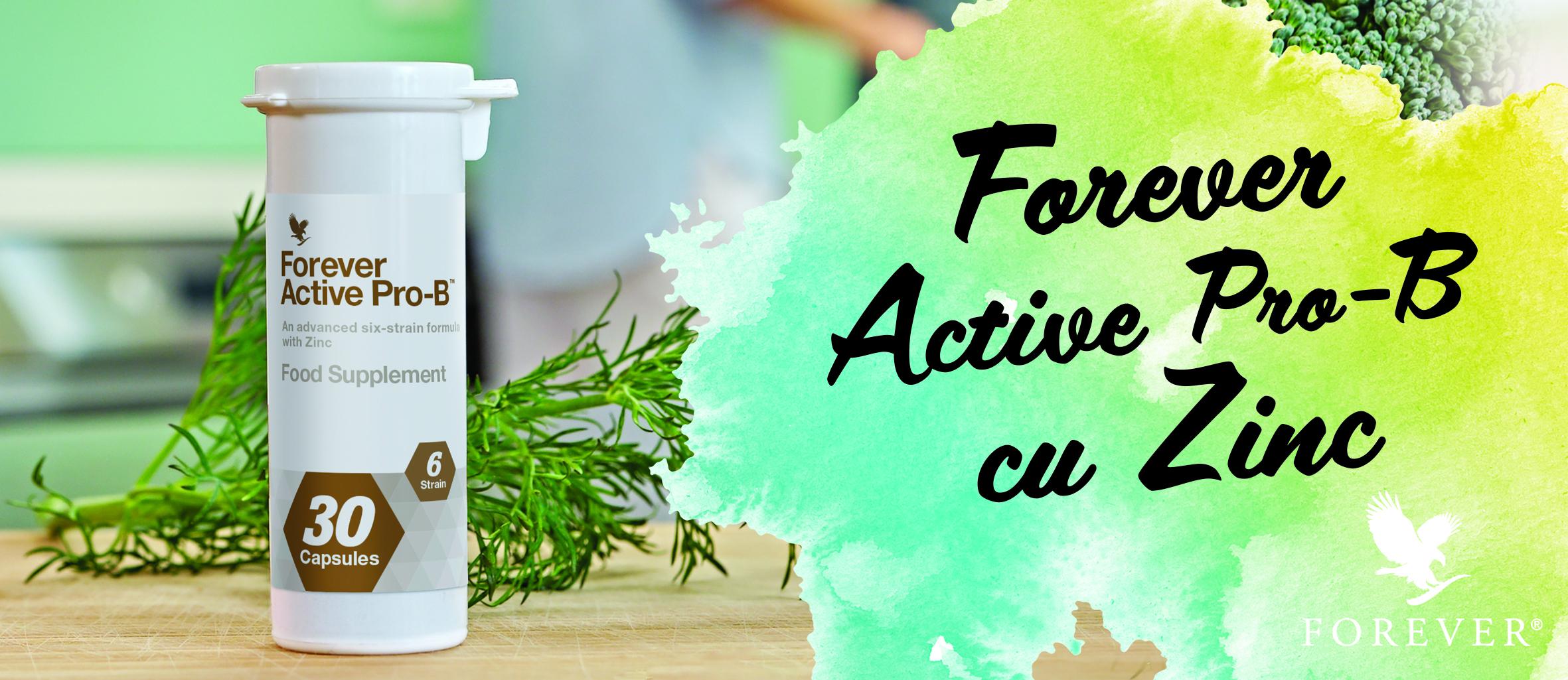 Forever Active pro-b cu zinc