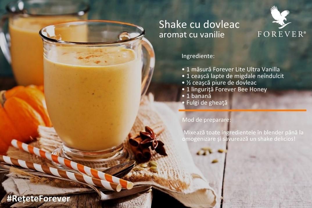 cel mai delicios shake cu dovleac