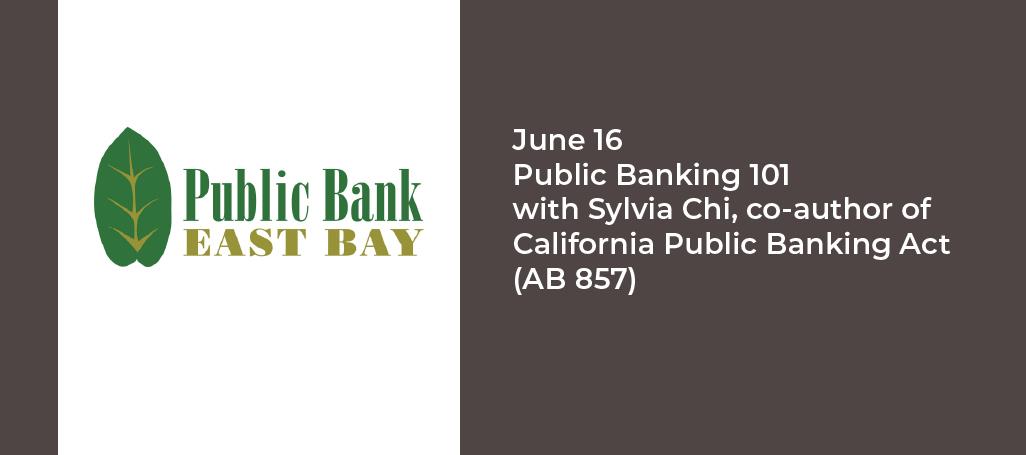 Public Banking 101 @ Online