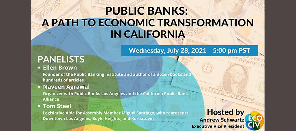Public bank webinar @ Online