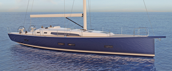 New J/45 offshore sailing yacht