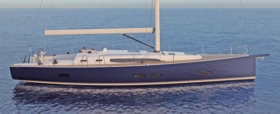J/45 offshore sailing yacht profile