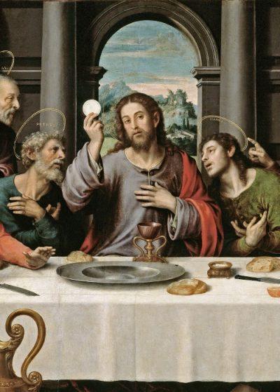 The Last Supper, Juan de Juanes, c. 1562