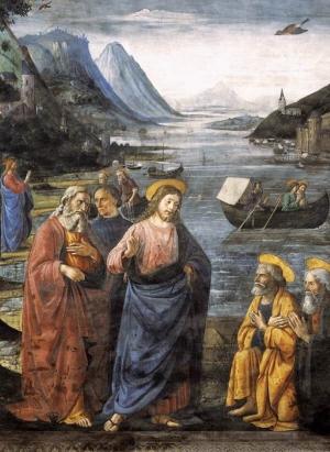 The Calling of the Apostles, Domenico Ghirlandaio, 1481-1482