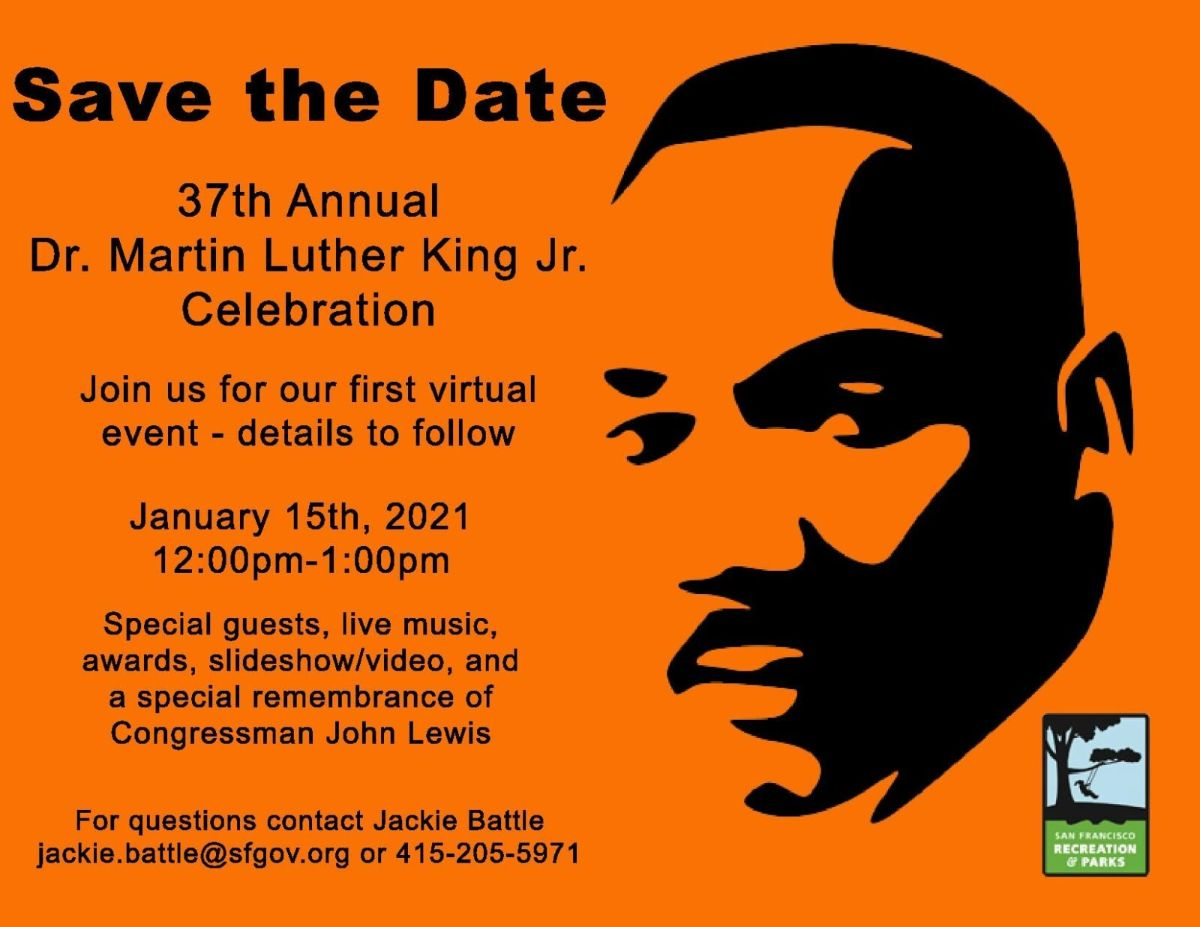 37th Annual Dr. Martin Luther King, Jr., Celebration @ Online