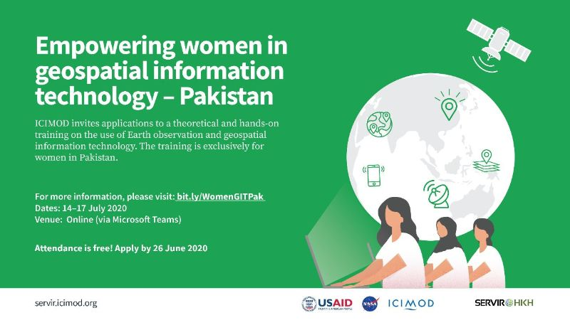 Empowering women in geospatial information technology – Pakistan