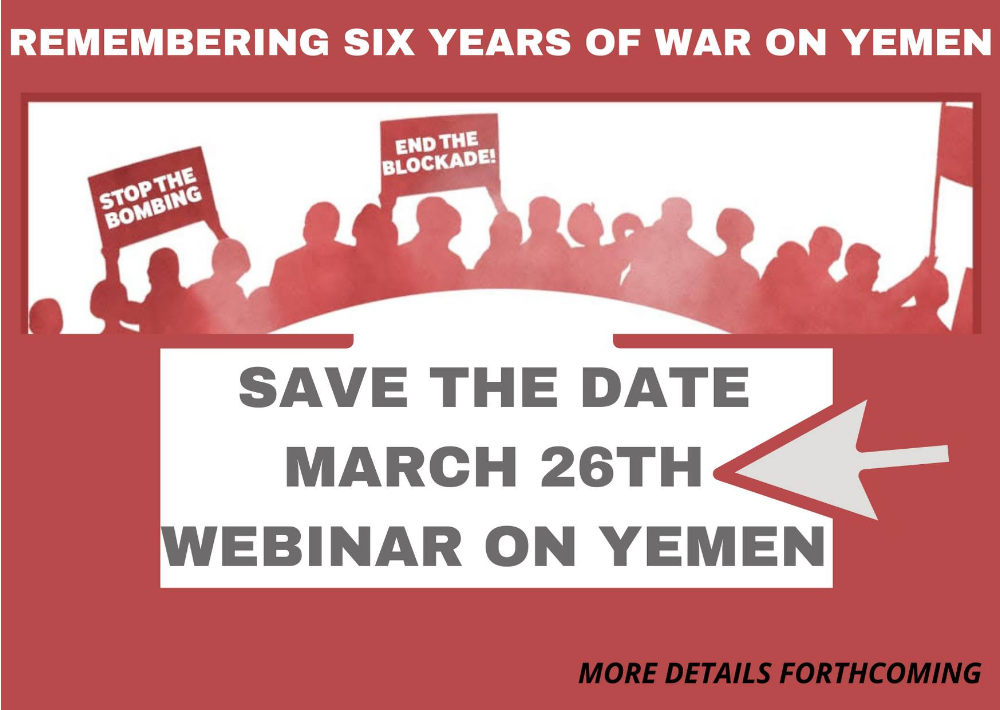 Remembering Six Years of War on Yemen @ Online