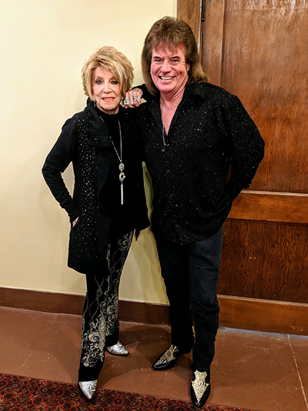 Jeannie Seely and Tim Atwood
