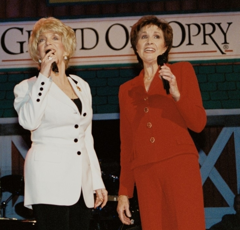Jan Howard and Jeannie Seely