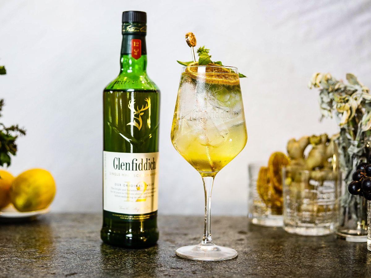 Glenfiddich single spritz