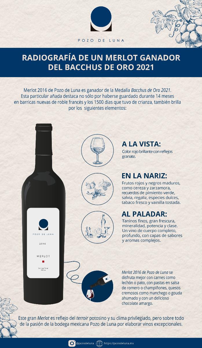 Infografía Merlot 2016