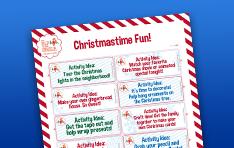 Image of Christmastime Fun printable