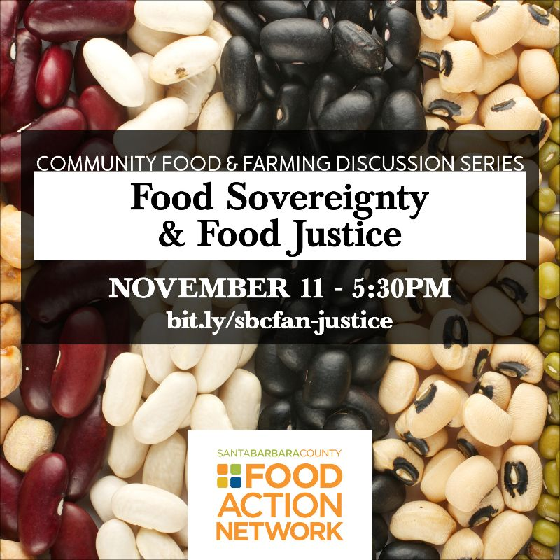 Food Sovereignty & Food Justice - November 11