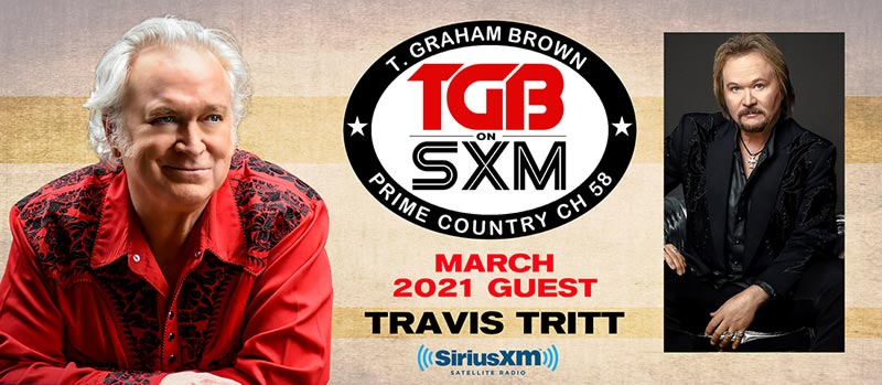 T. Graham Brown and Travis Tritt SiriusXM Prime Country Channel 58