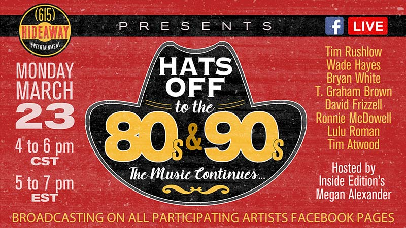 Hats Off To The 80s & 90s